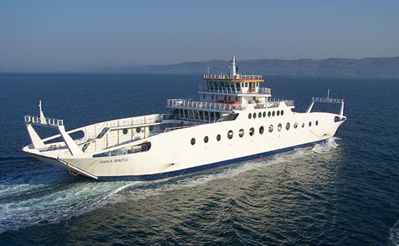 Ferries to Oropos and Eretria